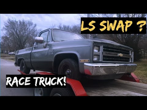 Bought A Chevy C10 Race Truck - LS SWAP