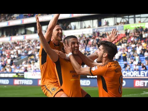 Coady and Douglas on Bolton Victory