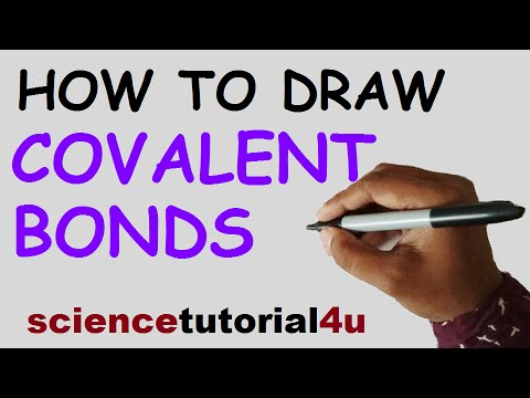 How to Draw Covalent Bonding Molecules