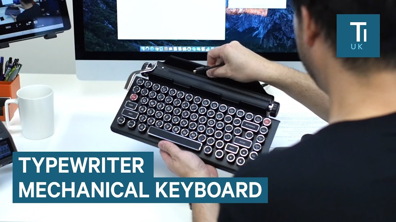 Keyboard Looks, Feels And Sounds Like A Typewriter