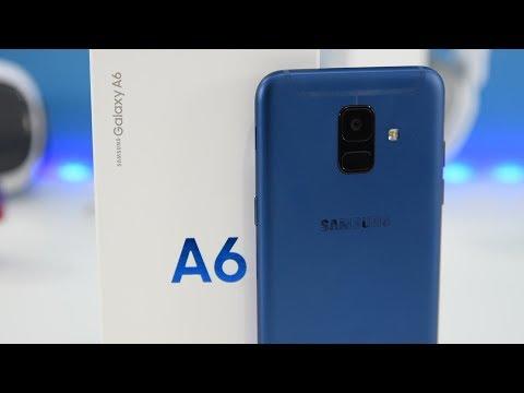 Samsung Galaxy A6 2018 обзор