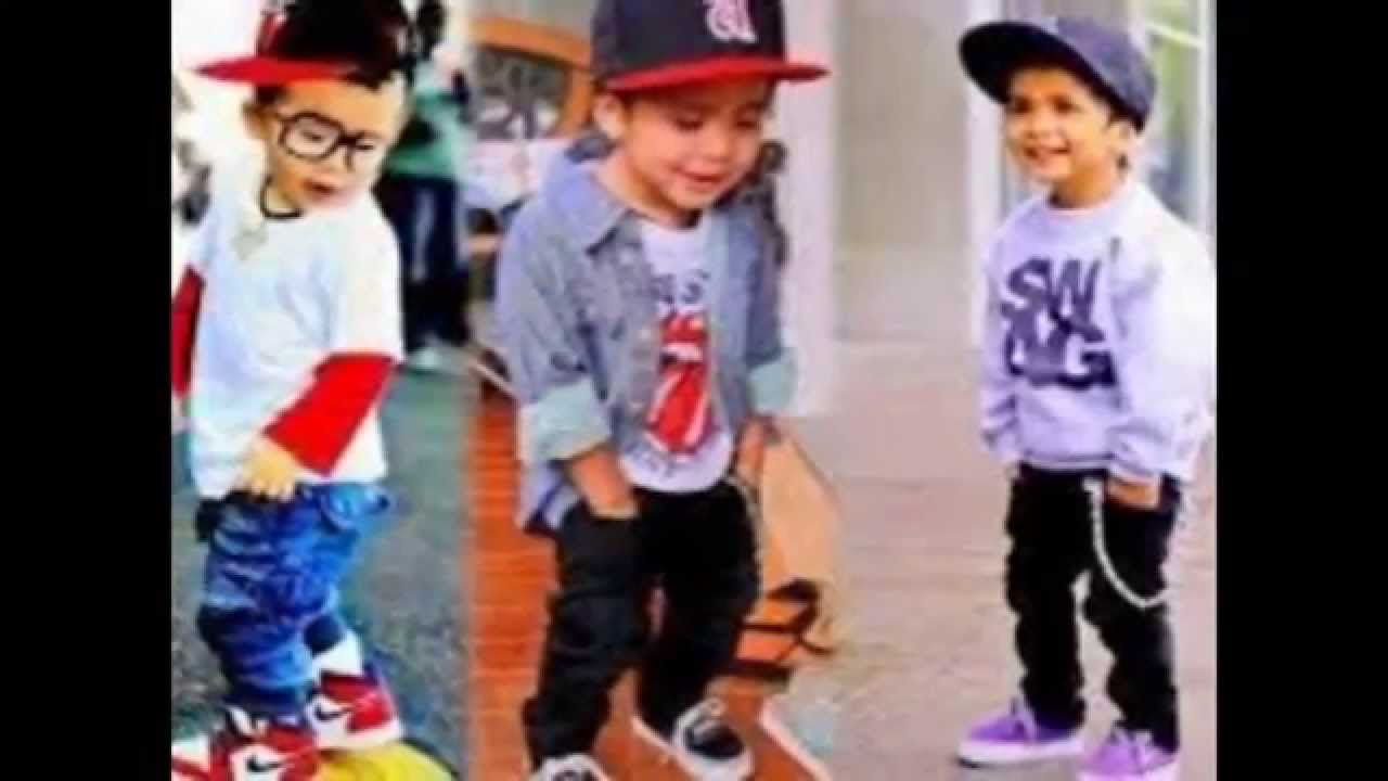 With boys swag
