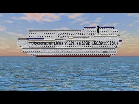 Tour of the Elevators @ Skyscraper Dream Cruise Ship