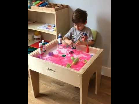 Light Activity Table for kid's development