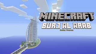 Minecraft Burj Al Arab + Tutorial