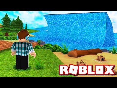 A MAIOR ONDA NO ROBLOX !! - ( Roblox Tsunami )