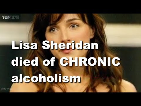 chronic | CSI actress, Lisa Sheridan, died of chronic alcoholism