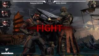 Mortal Kombat X Mobile/ All Bosses & Fatalities