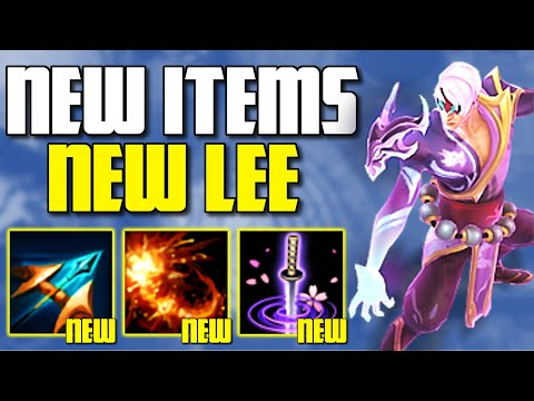 *NEW* ITEM IS A NEW INSEC FOR LEE SIN?! SEASON 11 LETHALITY LEE SIN IS AMAZING - League of Legends