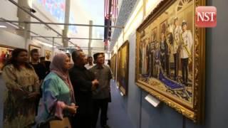 DPM visits Mahkota Jauhar Junjungan Negeri, exhibition on Johor Sultanate