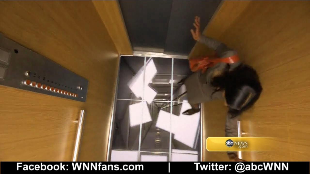 Elevator prank floor falls away youtube for Elevator floor prank