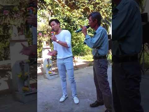 Cô hàng xóm Quý Bình về bến tre hát cùng Ba Hải