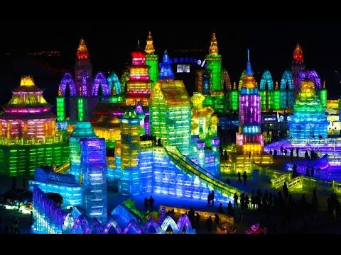 Harbin International Ice Snow Sculpture Festival 2016