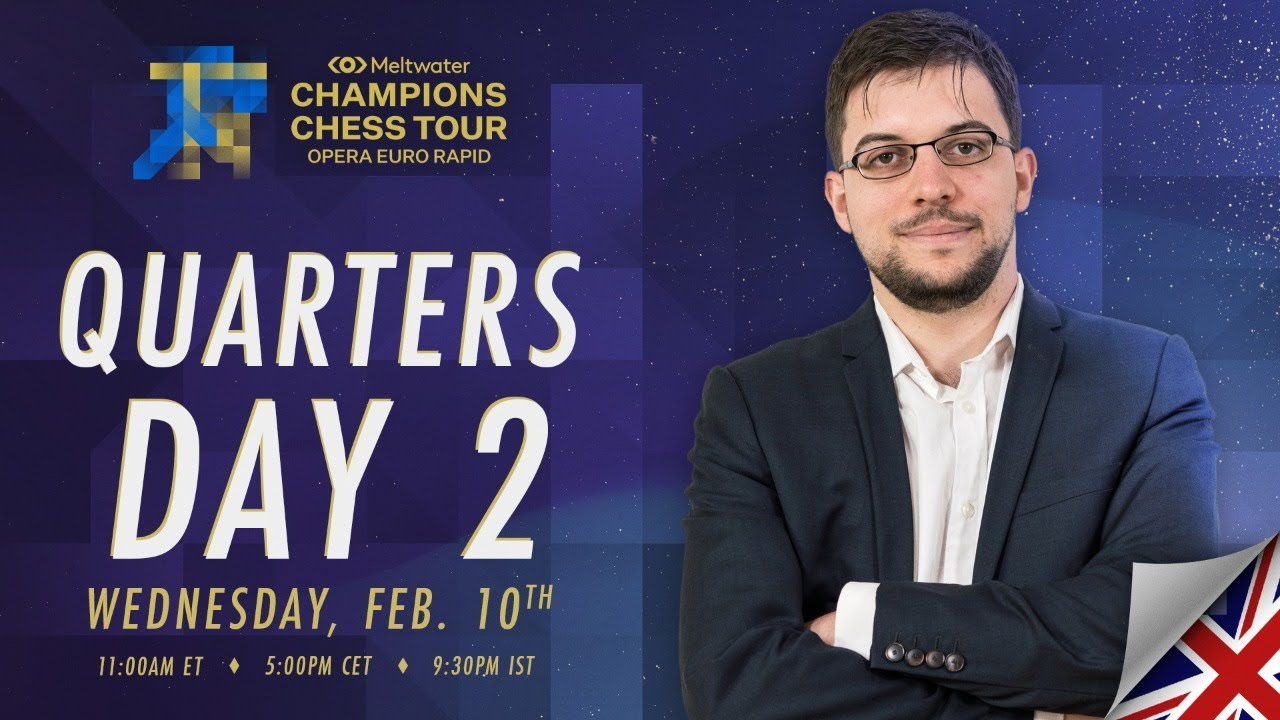 Download $1.5M Meltwater Champions Chess Tour: Opera Euro Rapid | Day 5 | Commentary by P.  Leko & T. Sachdev