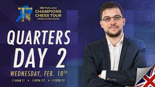 $1.5M Meltwater Champions Chess Tour: Opera Euro Rapid | Day 5 | Commentary by P.  Leko & T. Sachdev