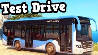 Just Cause 3 PC - Bus Test Drive