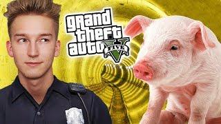 GTA V Policja #7 - ŚWINIA w METRZE