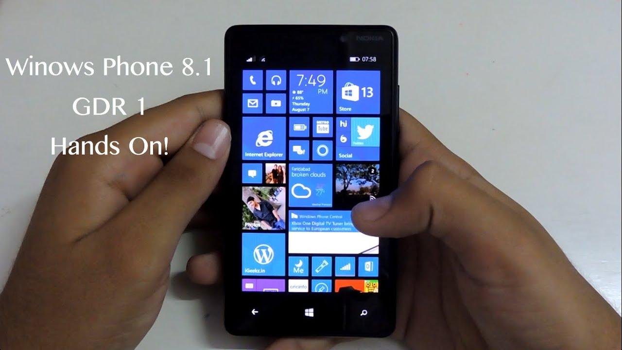 Windows Phone 8.1 Update 1: Hands On!