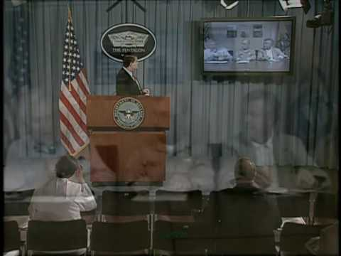OASD: DOD PRESS BRIEFING WITH DR. WARD, USN CAPT. KAPCIO, CA