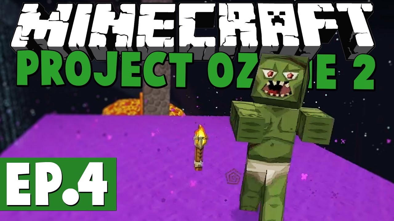 Minecraft Project Ozone 2 Kappa Mode! #4 [Modded HQM Skyblock]