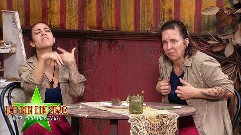 Dschungelcamp 2020 | Dschungelprüfung: Kaffee & Fluchen - Elena und Danni mampfen sich durchs Menü