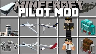 Minecraft PILOT MOD / FLY PLANES IN THE ...