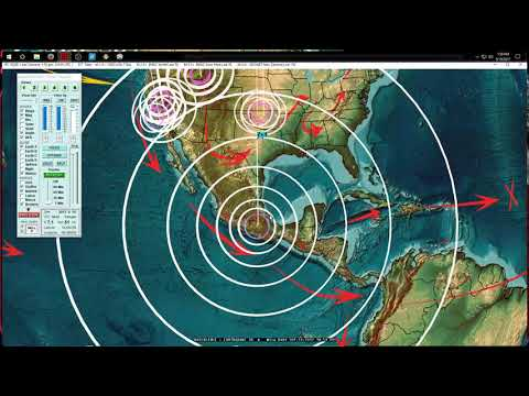 9/19/2017 -- Large M7.1 Earthquake strikes near Mexico City -- #MexicoWasWarned EQ forecast area hit