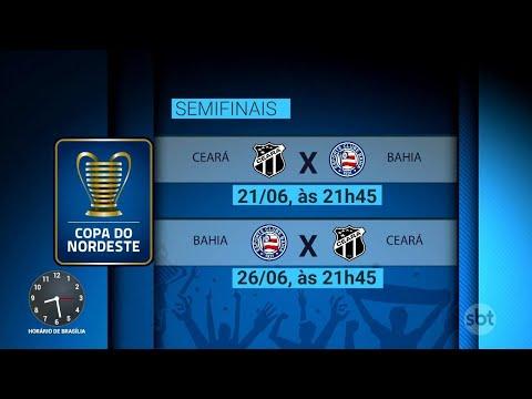 Sampaio Corrêa e ABC disputam hoje semifinal da Copa do Nordeste | Primeiro Impacto (19/06/18)
