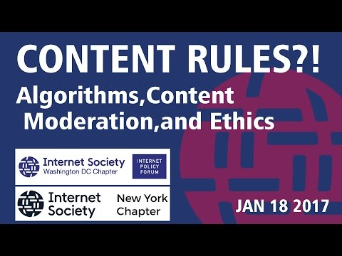 Content Rules?! Newsfeeds, Algorithms, Content Moderation, and Ethics