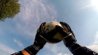Тренировка вратаря от первого лица (GoPro) | Крумкачы