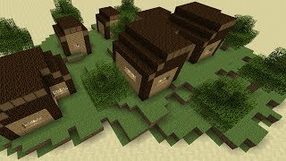 Minecraft Village Builder