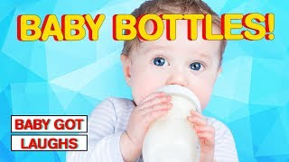 Babies Drinking From Bottles! CUTEST Baby Video Will Make You Awww May 2018