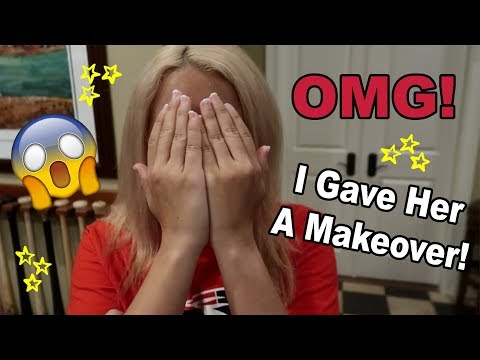 Chilly's First Time Wearing Makeup!!