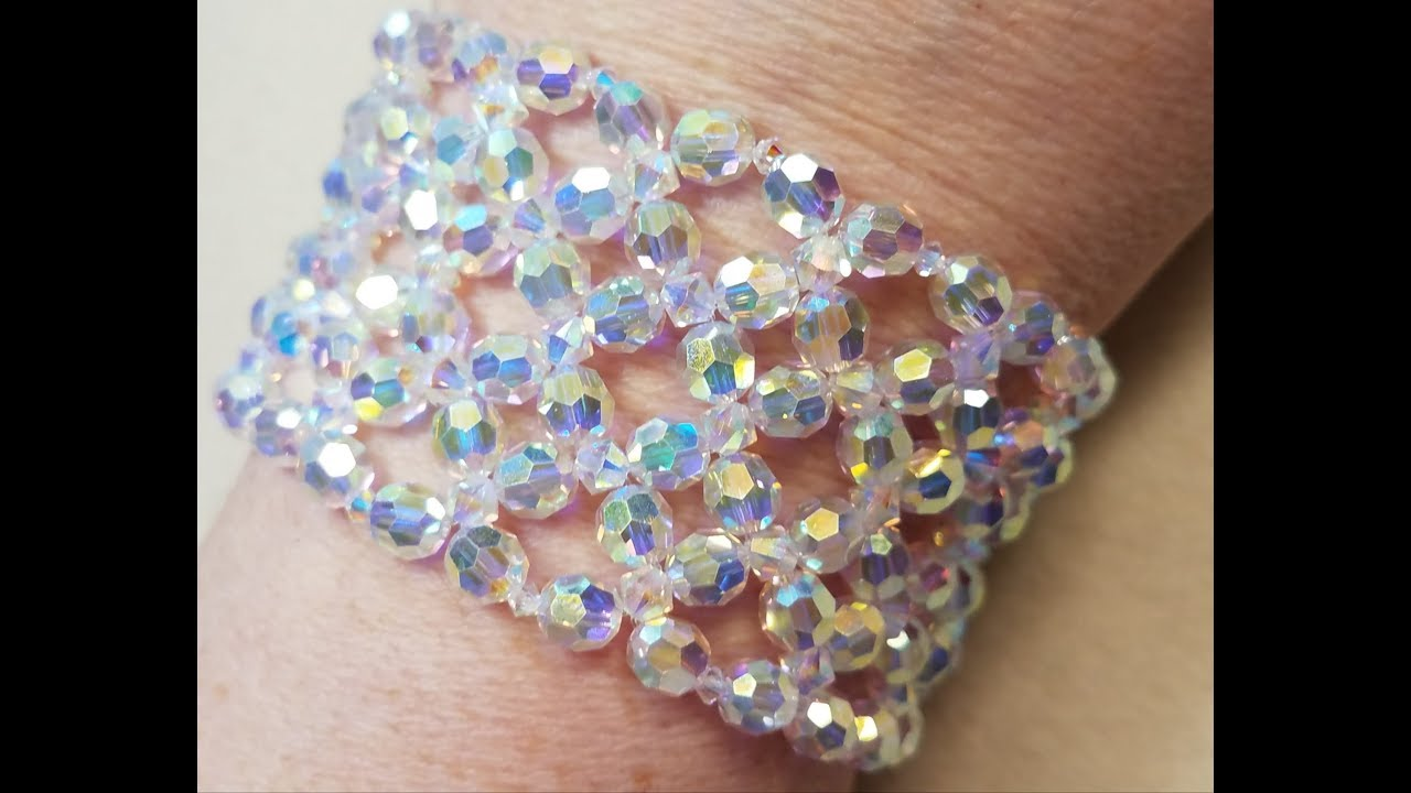 armband selber machen swarovski schmuck geschenk bracelet. Black Bedroom Furniture Sets. Home Design Ideas