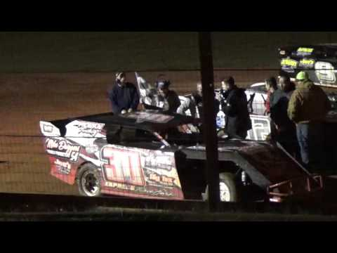 Sabine Motor speedway Joel Interview in victory lane
