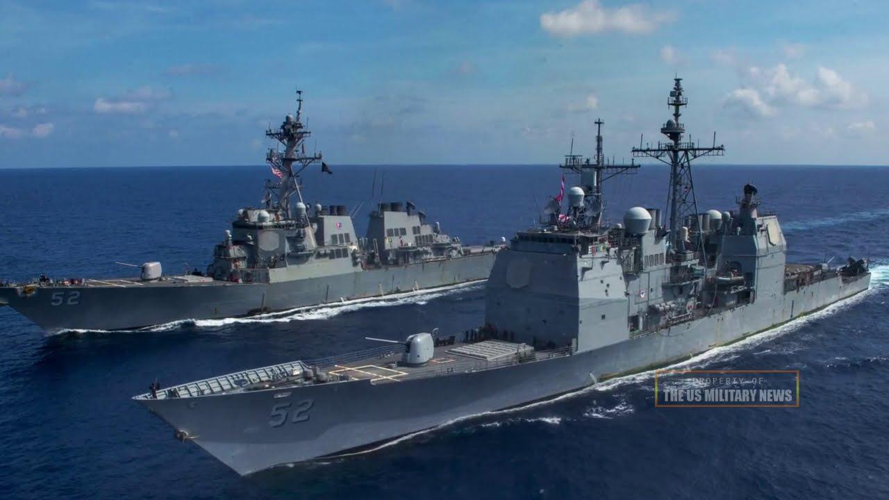 Fighting sea begins (January 19): The US and Japanese warships dock amid rising China sea tensions