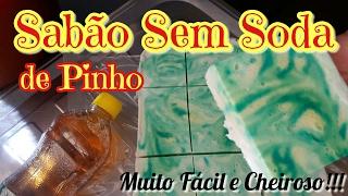 SABÃO SEM SODA DE PINHO DESINFETANTE MARAVILHOSO