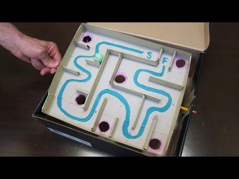Tilting Marble Maze