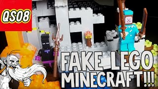 """""""COOL STYLING...CHANGING COLORS!!!"""" Chinese Fake Minecraft LEGO unboxing"""