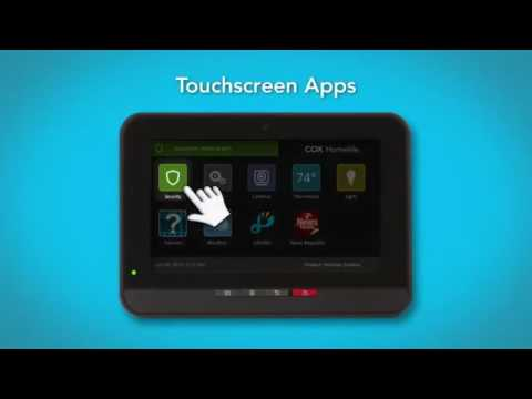 Cox Communications | How to use the Homelife Touchscreen Control Panel