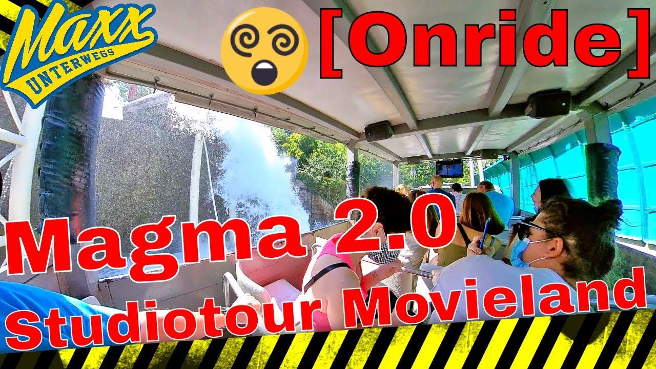 [Onride] Magma 2.0 | Studiotour | Movieland | Gardasee