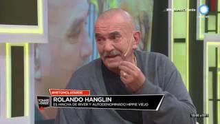 Rolando Hanglin en Tomate la tarde