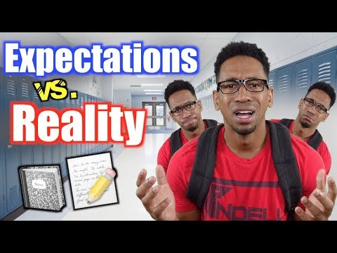 First Day of School: EXPECTATION vs REALITY!