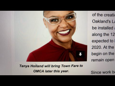 """Tanya Holland To Get New Oakland Museum Cafe """"Town Fare By Tanya Holland"""" August 2020"""