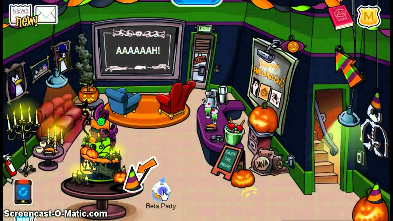 Club penguin th anniversary party new party hat youtube