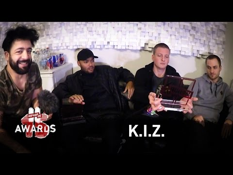 K.I.Z.: Hiphop.de Awards, interner Beef, Punchlines & Henning May (Interview) #waslos