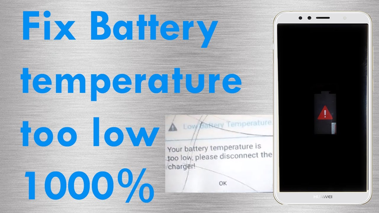 how to fix battery temperature too low on android smartphone 100% fix