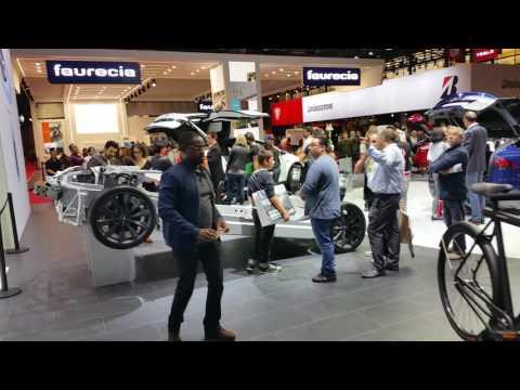 Tesla at Paris Motors Show 2016