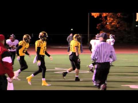 Easton High School Football Playoff vs Freedom W 20-3,Albertson,Minney-Gratz,Bai;ey and Moser