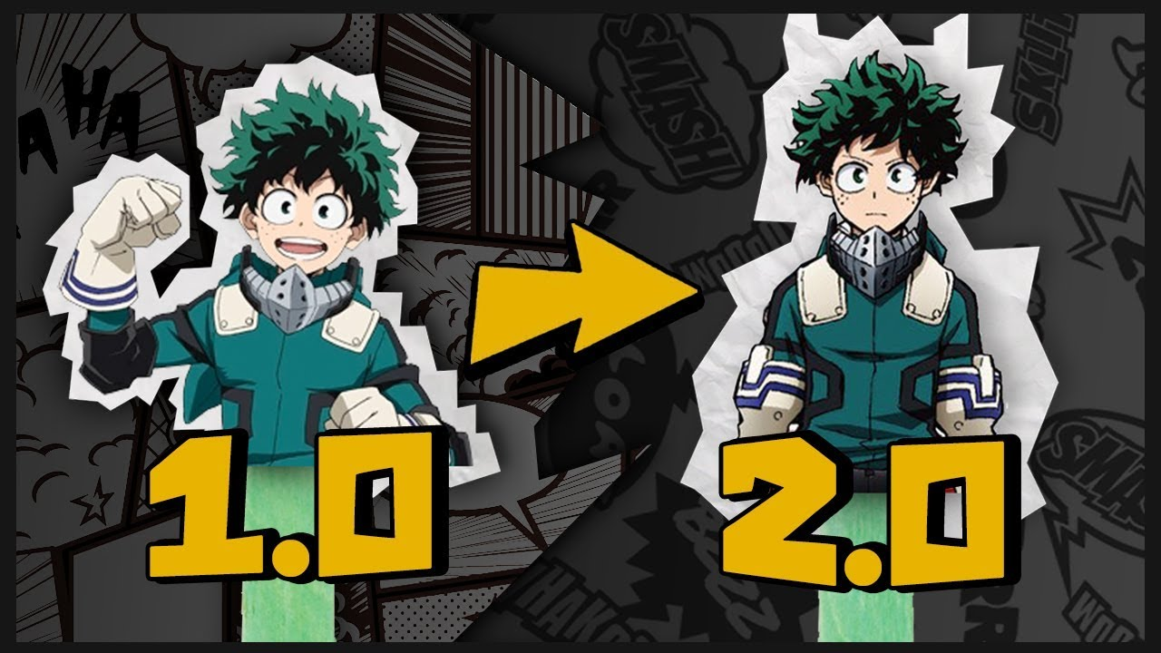 Deku 2 0 Is Here Deku Costume Gamma Explained My Hero Academia Season 3 Episode 15 Explained